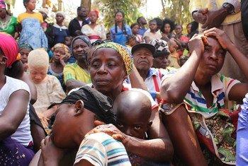 喀麦隆家庭被迫逃离动荡不安的英语区,前往尼日利亚寻求庇护。
