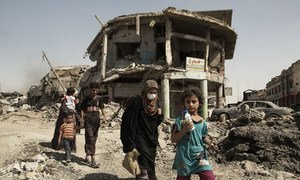 At donor conference, UN chief launches two-year plan to fast-track Iraq reconstruction