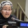أرشيف: أمينة محمد نائبة الأمين العام للأمم المتحدة.