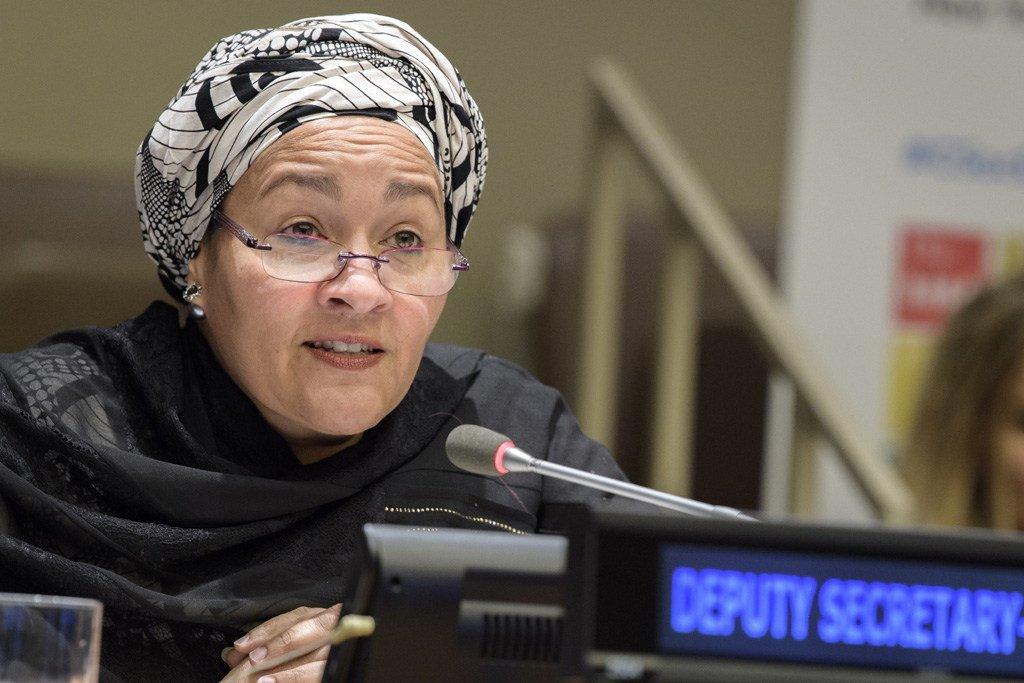 联合国常务副秘书长阿米娜·默罕默德