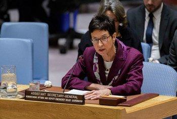 联合国副紧急救济协调员乌苏拉·穆勒向安理会通报叙利亚最新人道主义局势。