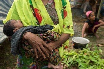 Des réfugiés rohingyas.