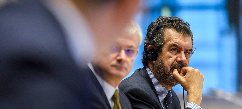 Relator especial sobre los derechos humanos de los migrantes, Felipe González Morales