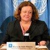 منسقة الشؤون الإنسانية في ليبيا ماريا دو فالي ريبيرو