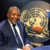 Embaixador da Guiné-Bissau junto à ONU, Fernando Delfim da Silva.