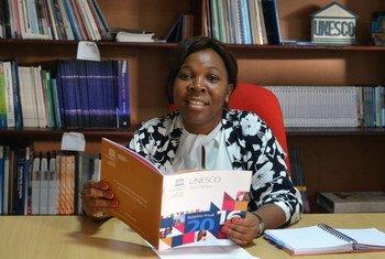 Especialista da Organização das Nações Unidas para Educação, Ciência e Cultura, Unesco, Dulce Domingos Mungoi.