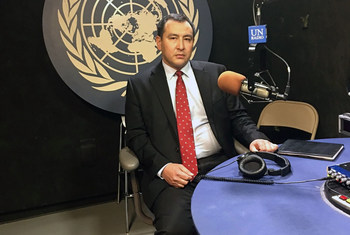 Представитель Минобороны в Миссии Казахстана при ООН полковник Ерулан Акылбаев