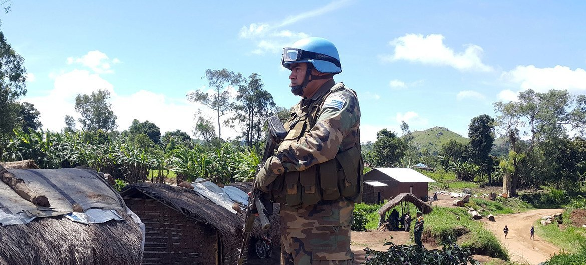 Keeping CHildren Safe has been training UN Peacekeepers