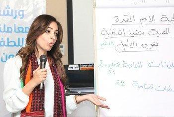 ورشة عمل في أسوان حول حقوق الطفل في مصر.