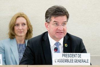 Le Président de l'Assemblée générale des Nations Unies, Miroslav Lajčák (archives).