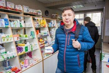 Ivan Zelenskiy é um paciente com câncer na Ucrânia