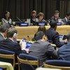 Negociações do Pacto Global sobre Migração Segura, Ordeira e Regular, que foi preparado com acompanhamento da ONU.