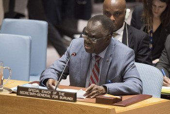 Michel Kafando, Envoyé spécial du Secrétaire général pour le Burundi, informe le Conseil de sécurité sur la situation au Burundi.