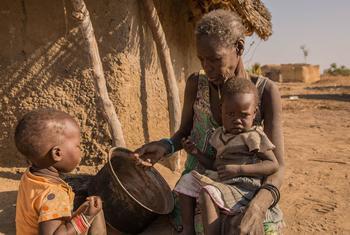 Более семи миллионов человек в Южном Судане -  а это почти две трети населения – истощены и находятся на грани голода