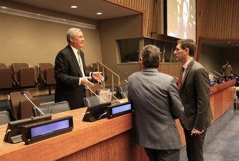 Александр Трепелков на конференции ООН под названием «Налоги и Цели устойчивого развития»