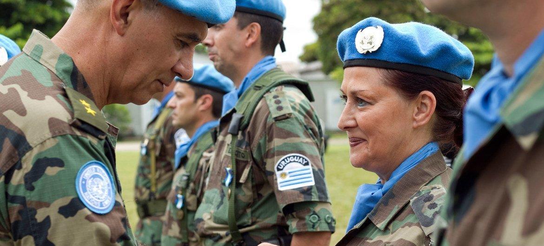 O maior contingente do Uruguai está na Monusco com 900 militares, entre os quais 60 mulheres.