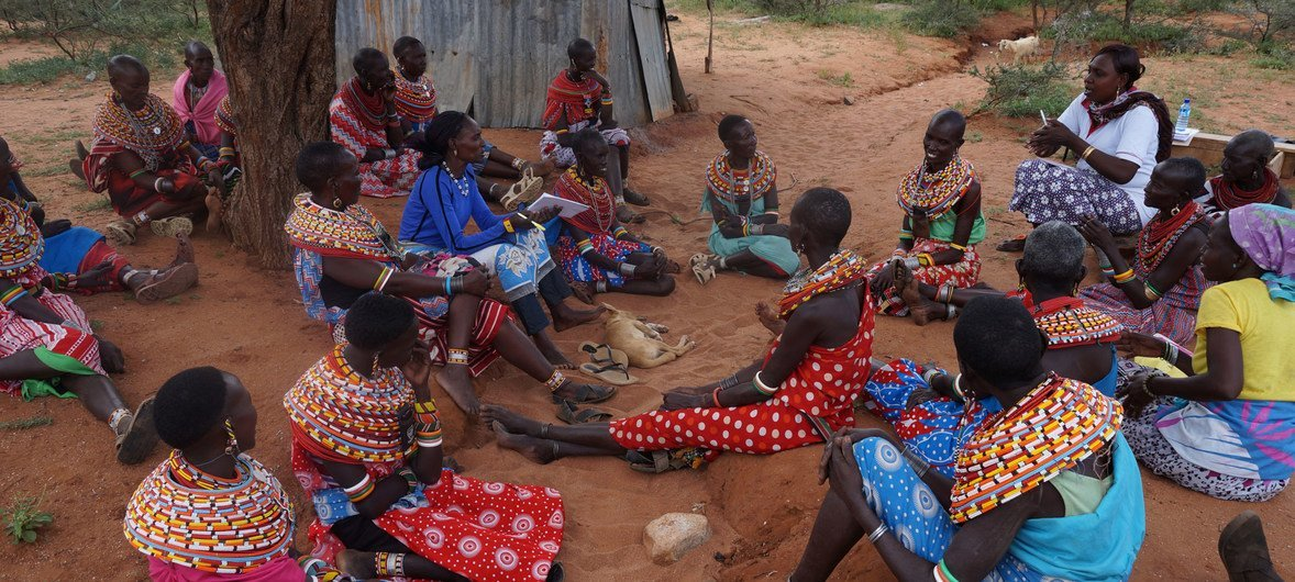 Wanawake kutoka kabila la wasamburu nchini Kenya
