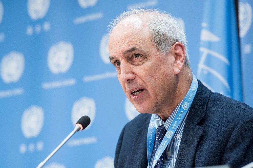 من الأرشيف: المقرر الخاص المعني بحالة حقوق الإنسان في الأراضي الفلسطينية المحتلة مايكل لينك