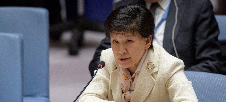 La Haut-Représentante pour les affaires de désarmement de l'ONU, Izumi Nakamitsu (archives).