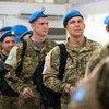 Украинские миротворцы из Миссии ООН в Либерии, мандат которой завершается 30 марта 2018 года