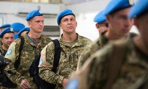 Украинские миротворцы уходят из Миссии ООН в Либерии, мандат которой завершился 30 марта 2018 года