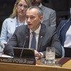 Nickolay Mladenov, Mratibu Maalum wa mchakato wa amani Mashariki ya Kati  akihutubia Baraza la Usalama la UN