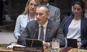 Coordenador especial da ONU para o Oriente Médio, Nickolay Mladenov
