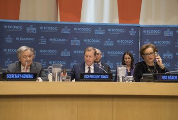 Participants at the opening of the annual Operational Segment of the UN Economic and Social Council (ECOSOC).