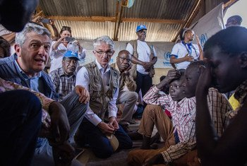 Newly arrived refugees from South Sudan tell UNHCR head Filippo Grandi and UN Emergency Relief Coordinator Mark Lowcock why they fled.