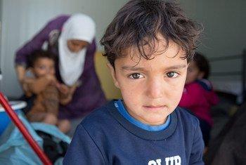 希腊莱斯沃斯岛上的难民和寻求庇护者面临过度拥挤的条件。