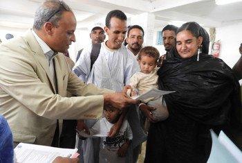 Mauritânia começa a fornecer certidão de nascimento para crianças refugiadas