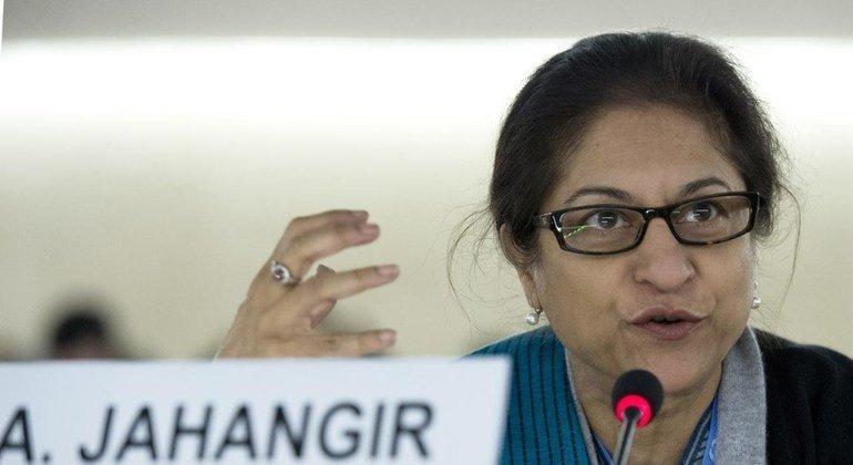 Asma Jahangir era una abogada de los derechos humanos y fue relatora especial sobre la situación en Irán.