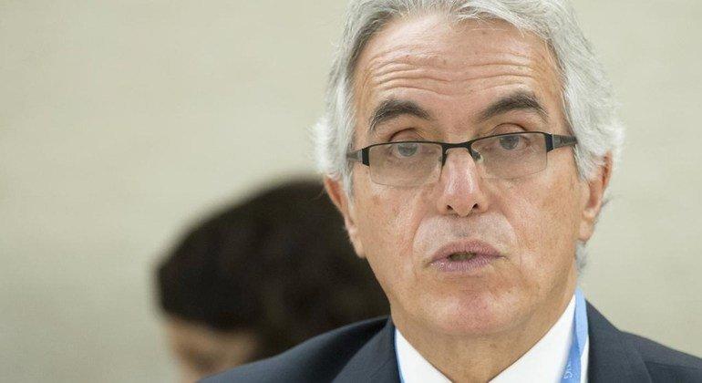 Diego García-Sayán, relator especial sobre la independencia de los magistrados y abogados
