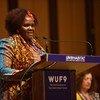Mwakilishi wa wanawake wa mashinani kutoka Kenya (Rural Women Representative from Kenya) Bi. Violet Kibute.