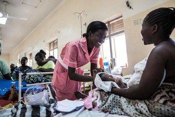 Materninade em Juba, no Sudão do Sul.