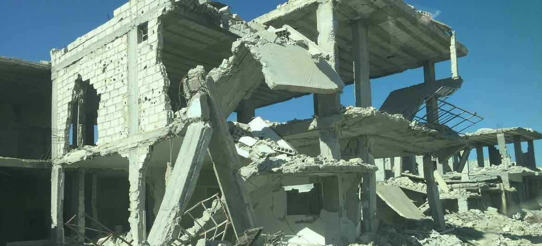 Alrededor de 400.000 personas viven en Guta Oriental y representan el 94% de las personas que viven en zonas sitiadas en Siria