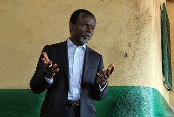 Le Représentant spécial du Secrétaire général pour la République centrafricaine, Parfait Onanga-Anyanga.
