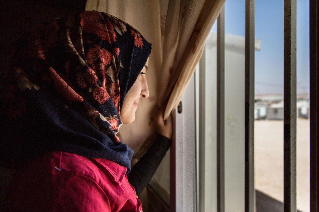 PHOTO : UNFPA/Réfugiée syrienne