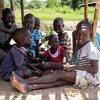 Amani ya kudumu nchini Sudan Kusini ni muarobaini kwa mustakhbali wa watoto kama hawa nchini humo ambao sasa haki zao za msingi zinasiginwa.