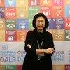 联合国新闻部新闻与媒体司司长姜华。