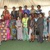 A Kinshasa, des femmes leaders représentant tous les secteurs de la société congolaise ont organisé un événement pour accueillir Leila Zerrougui, la Représentante spéciale du Secrétaire général en République démocratique du Congo et Chef de la MONUSCO