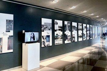 В штаб-квартире ООН в Нью-Йорке проходит выставка «Помните о рабстве: заявите об этом в полный голос»