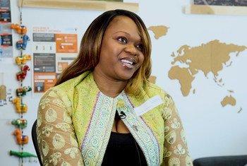 Mireille Tushiminina est une activiste œuvrant auprès des femmes rurales en RDC. Sa participation à la 62ème session de la Commission sur la condition de la femme, lui permet de partager son expérience sur l'autonomisation des femmes dans son pays.