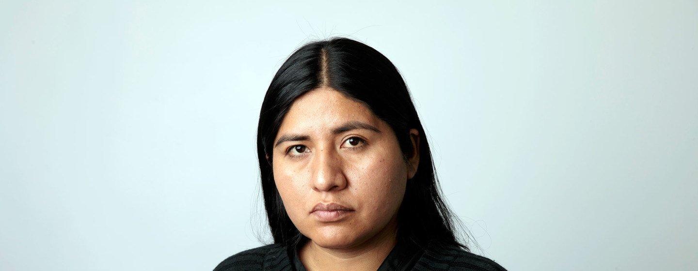 Silene Salazar, cofundadora de la Red Nacional de Mujeres Indígenas y Bisexuales en Bolivia.