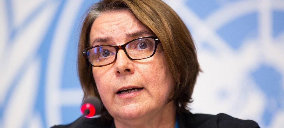 Catherine Marchi-Uhel, jefe del Mecanismo Internacional Imparcial e Independiente sobre los Crímenes en Siria