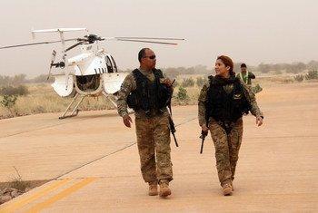 Миротворцы из Многопрофильной комплексной миссии ООН по стабилизации в Мали (МИНУСМА)