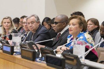 Comité spécial des Nations Unies sur la décolonisation lors de l'ouverture de sa session 2018