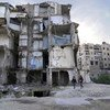 Relentless fighting has left much of Syria in ruins.