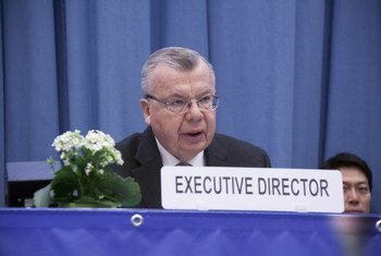 Yury Fedotov, the Executive Director of the UN Office on Drugs and Crime (UNODC).
