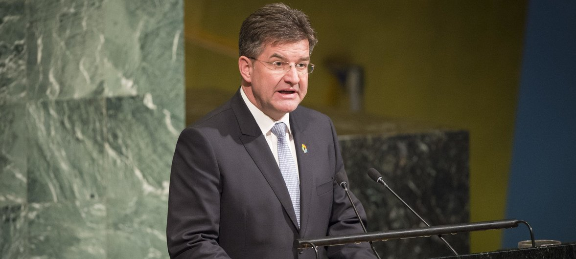 现任联大主席莱恰克(Miroslav Lajčák)将于下周召开一场有关建设与维护和平的高层会议。